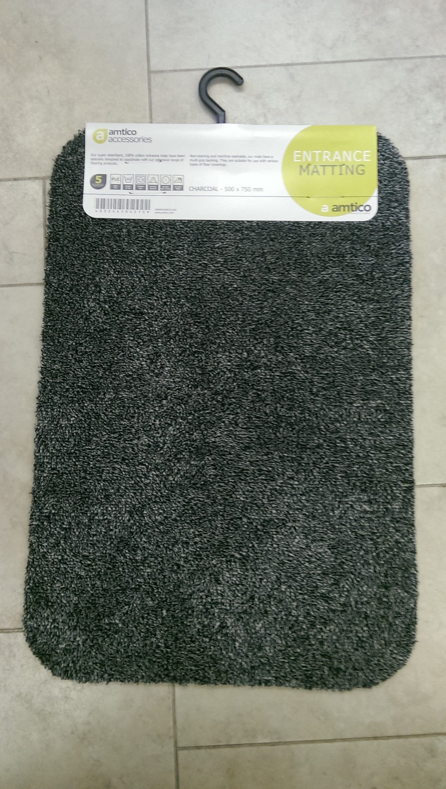 Carpet Floor Mats >> Amtico Floorcare Mat 500mm x 750mm
