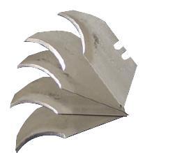Morley Concave Blades