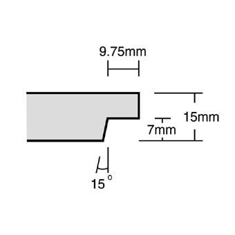 Armstrong 9015M Cortega Tegular 600x600